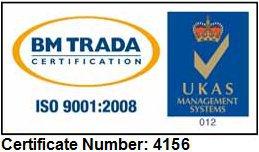 ISO 9001 2008 Cert logo